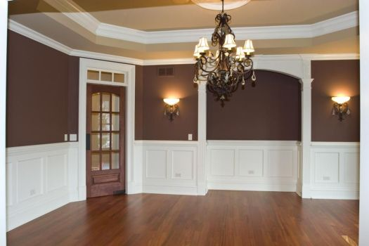 home interior two tone paint schemes home painting