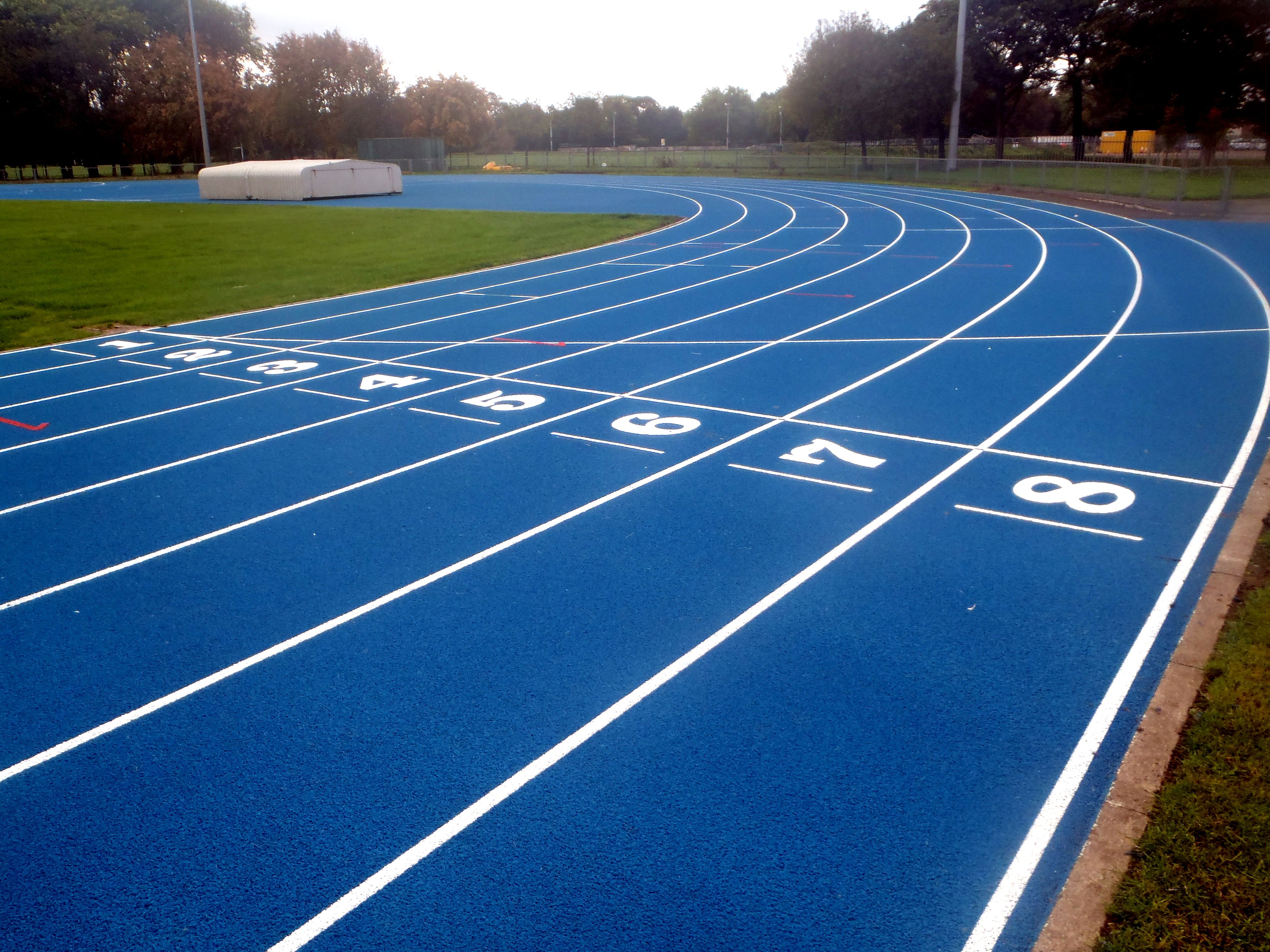 Polymeric Running Track Construction Track Pinterest