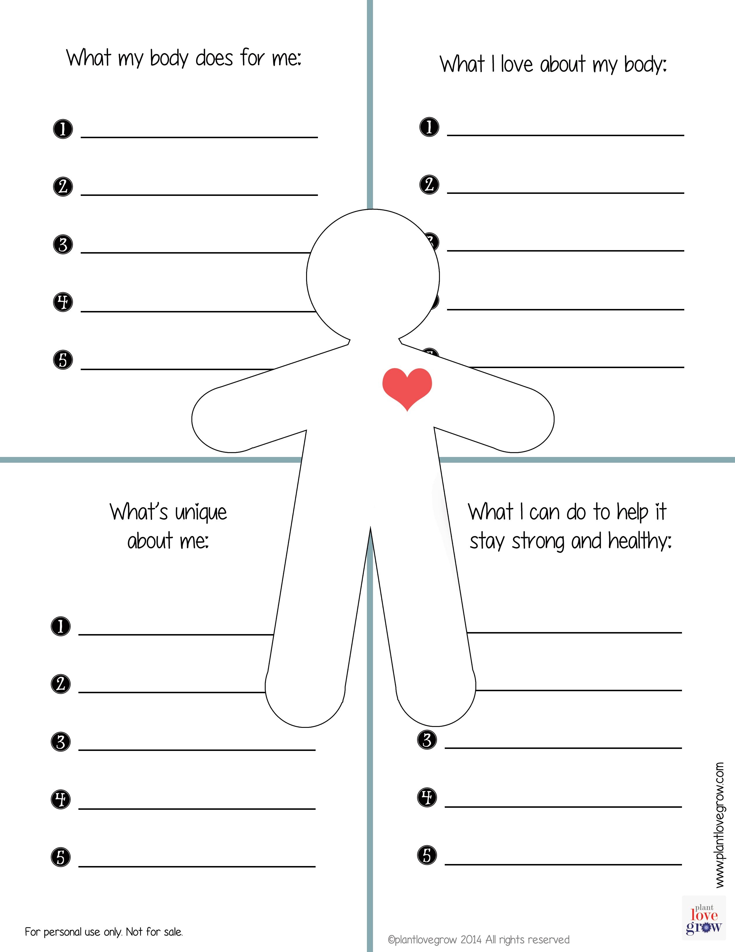 Worksheet Self Awareness Worksheets Grass Fedjp