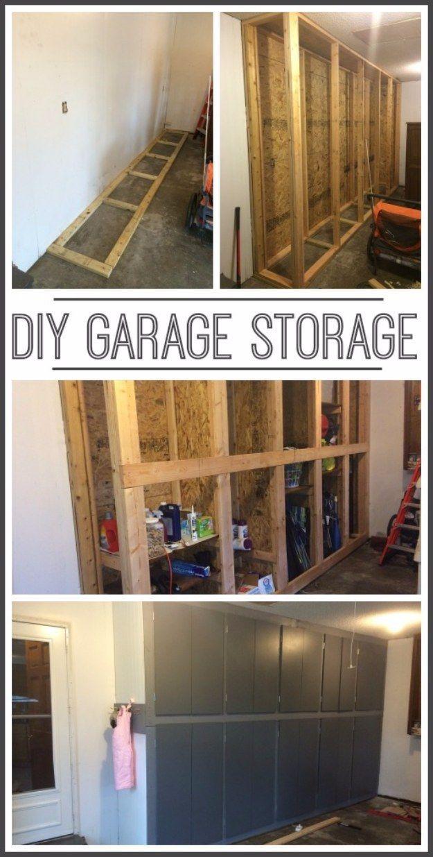 36 DIY Ideas You Need For Your Garage Diy garage storage