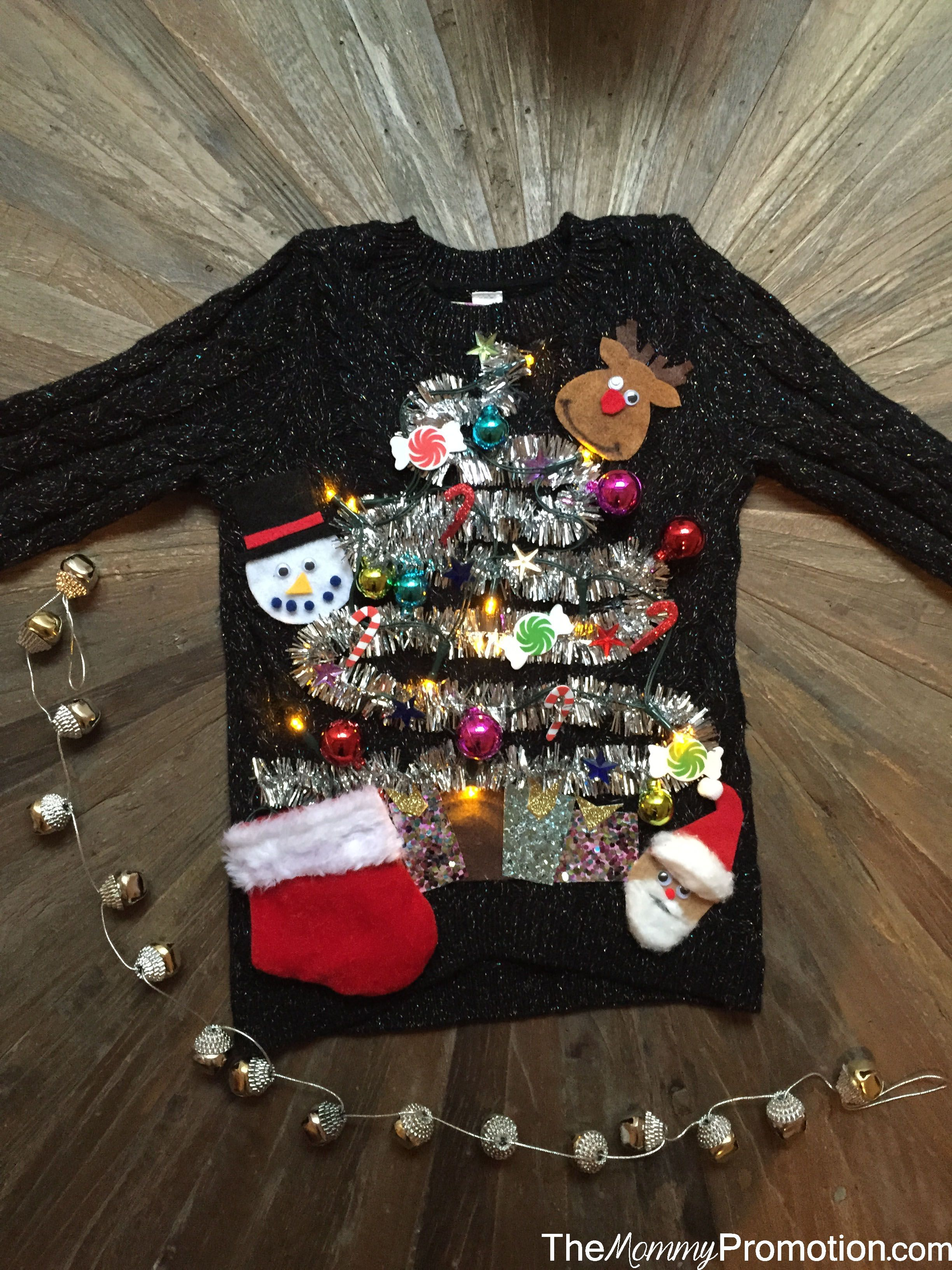 DIY Ugly (Cute) Christmas Sweater for Kids! Babies and