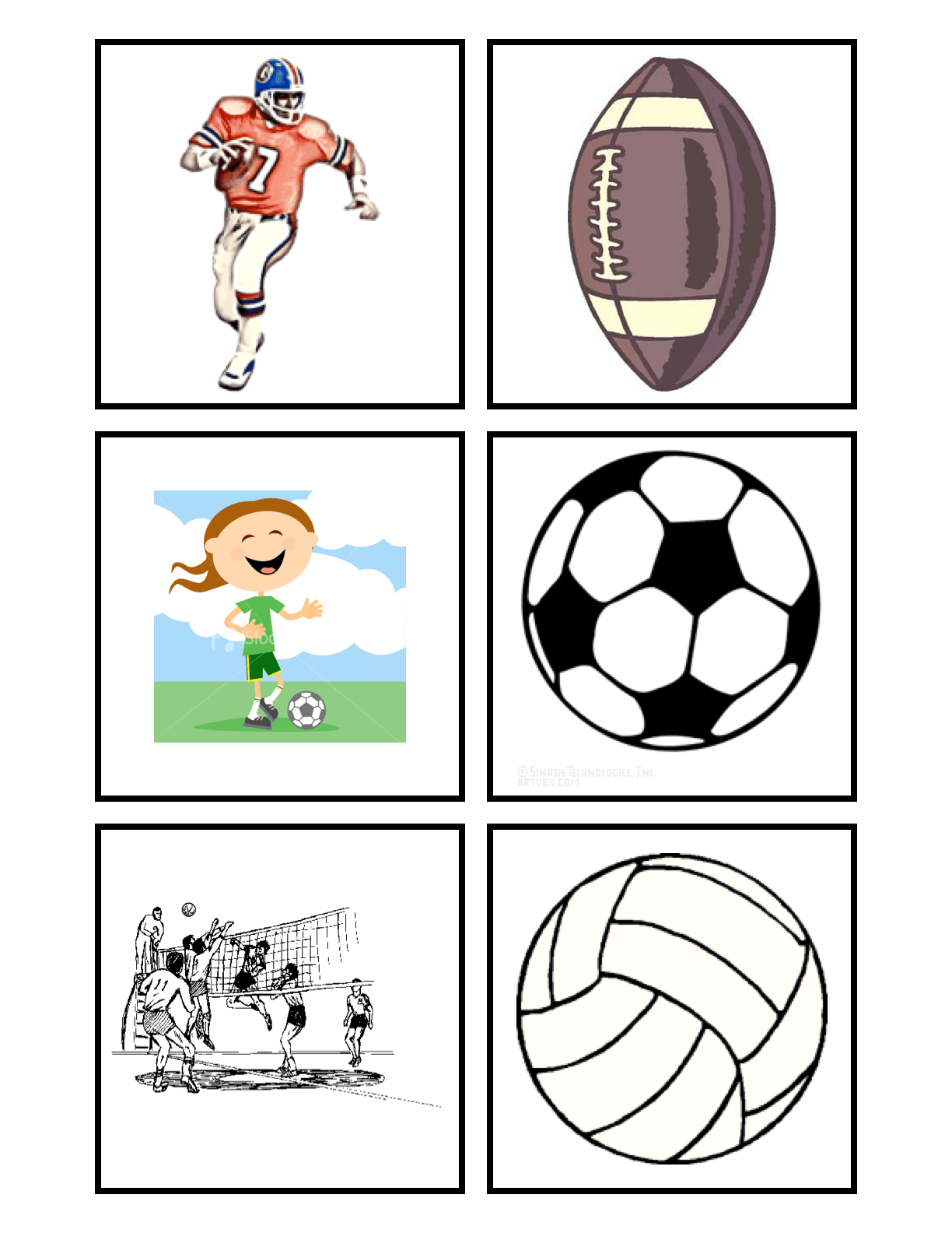 Preschool Is Fun Planning Activities Sport Match