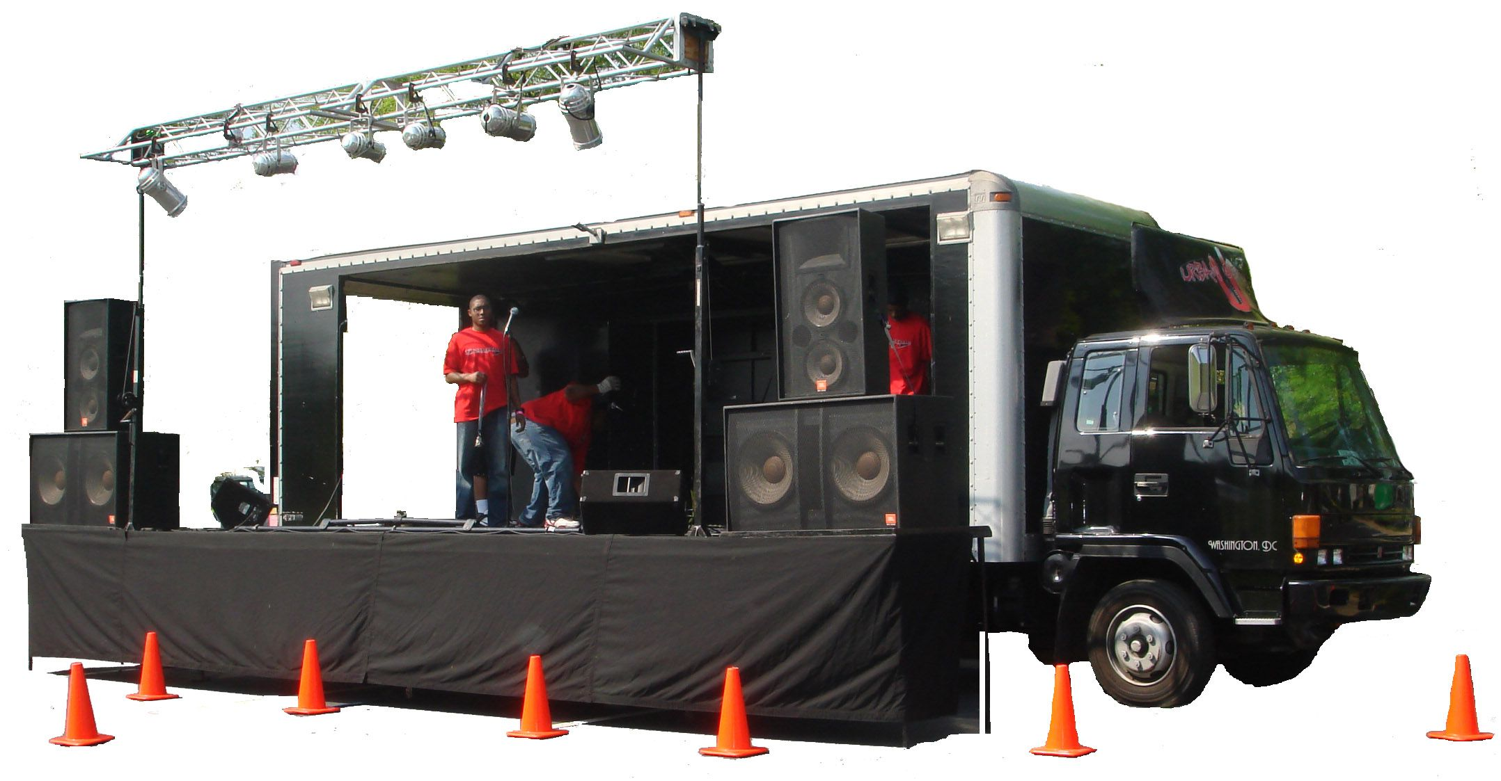 mobile music stage Mobile Music Stage Pinterest