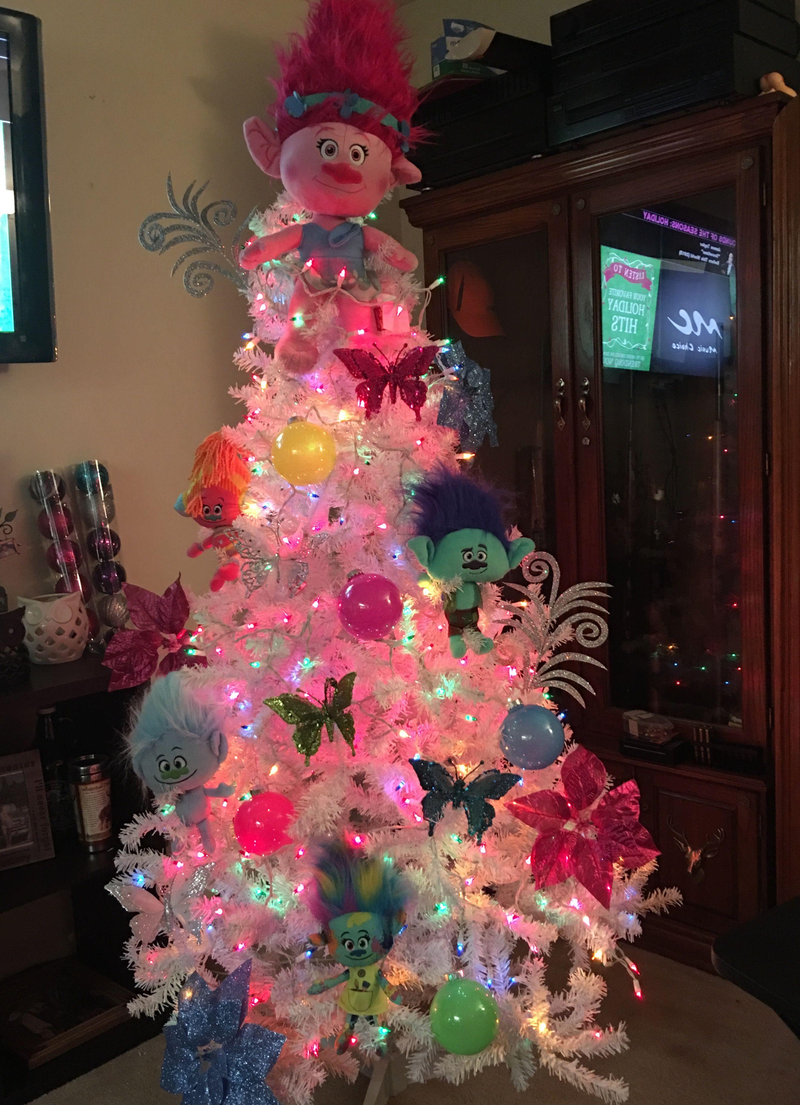 New Movie Troll Christmas Tree December Pinterest
