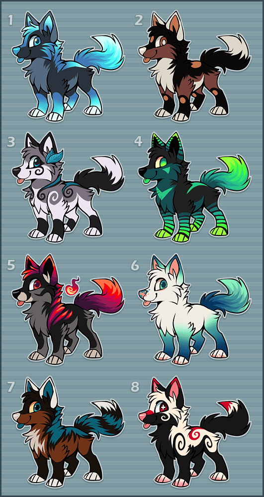 Adoptables Point Auction CLOSED by Kawiko.deviantart
