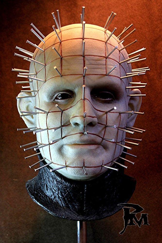 Hellraiser Pinhead full size mask halloween Masking