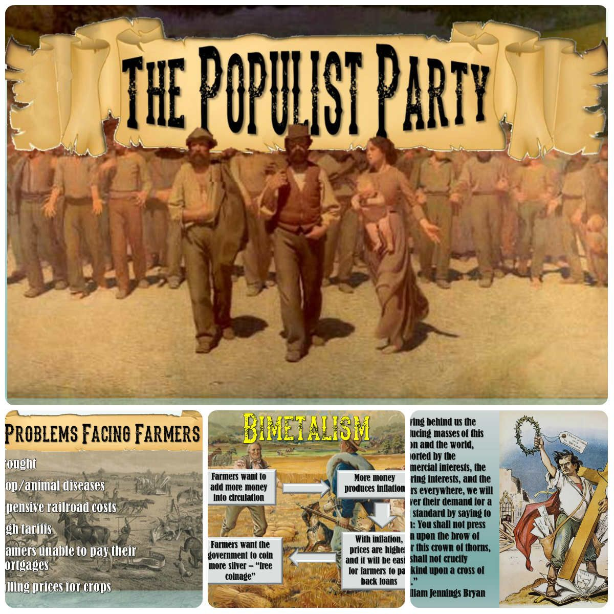 Populism The Populist Party And Bimetalism Powerpoint
