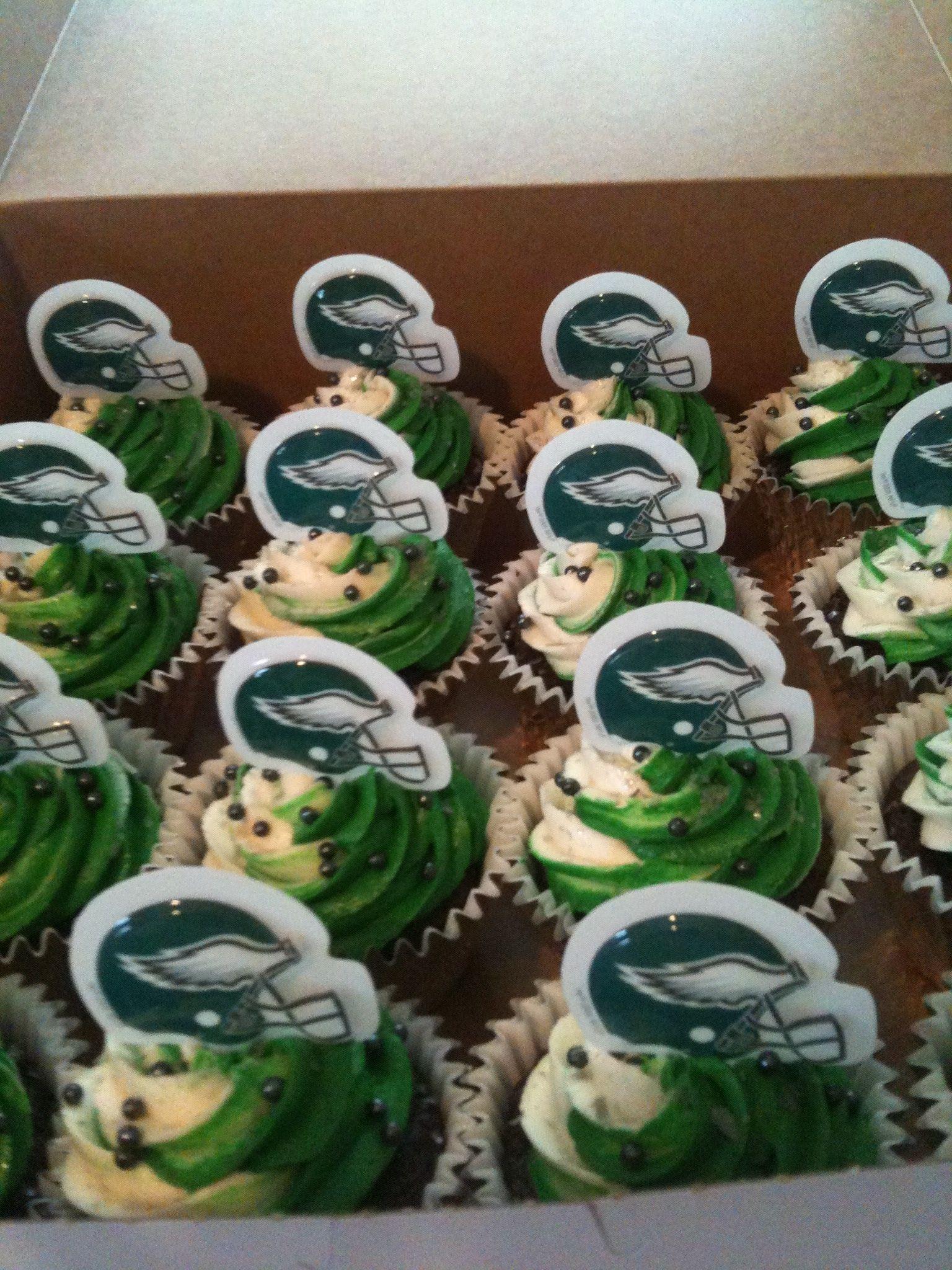 Philadelphia Eagles Sports Cupcakes Pinterest Sunday
