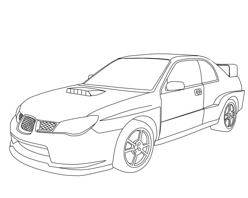 Subaru Sti Wrx