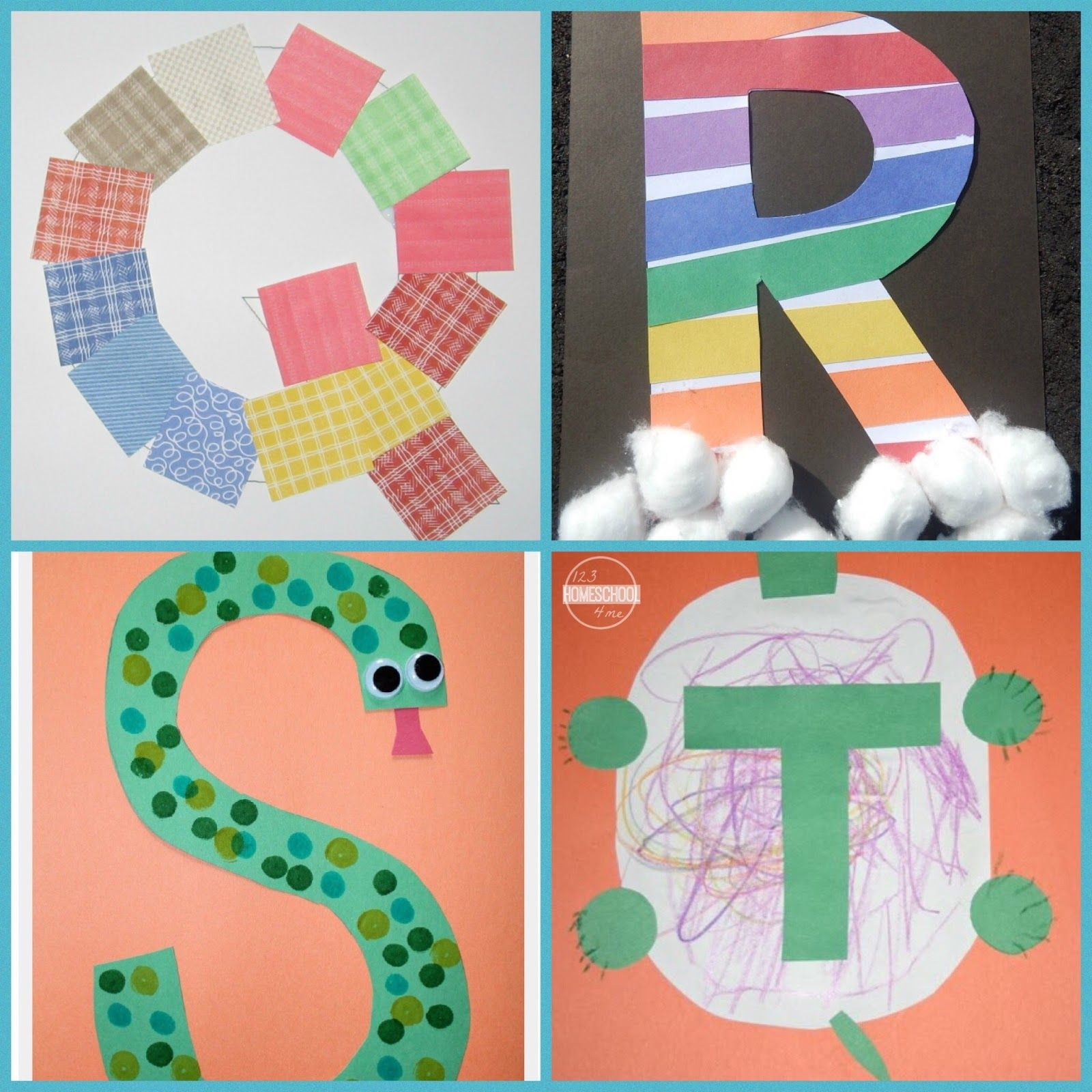 Super Cute Alphabet Crafts From A To Z For Toddler