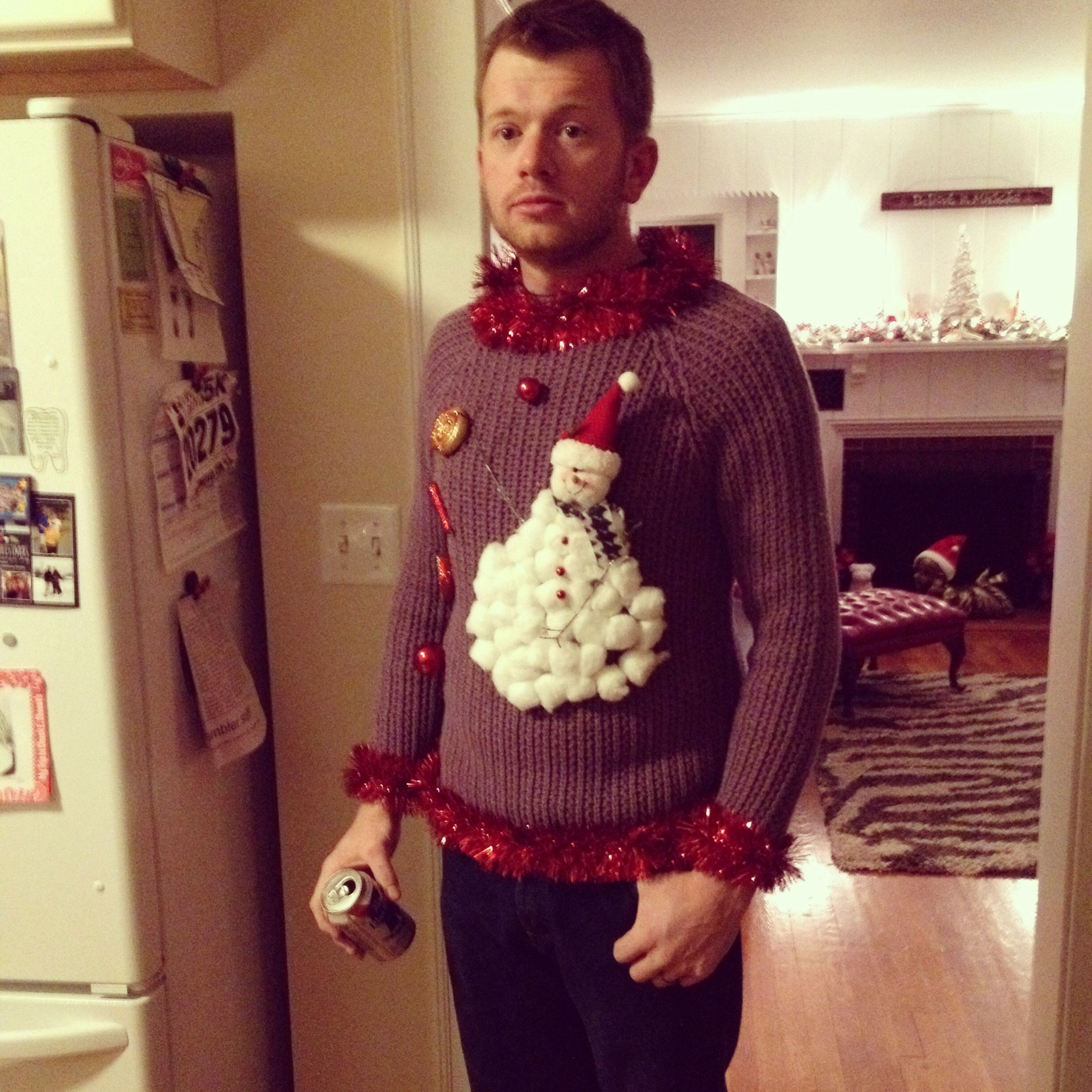 Best homemade ugly Christmas sweater!!! Christmas
