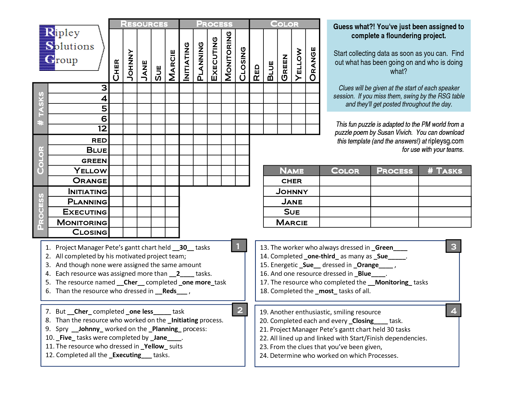 printable puzzles for adults Logic Puzzle Template PDF