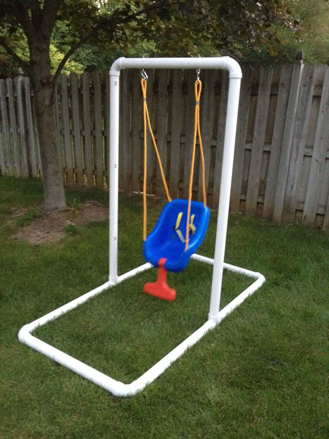 Homemade infant swing stand 6500 what youll need