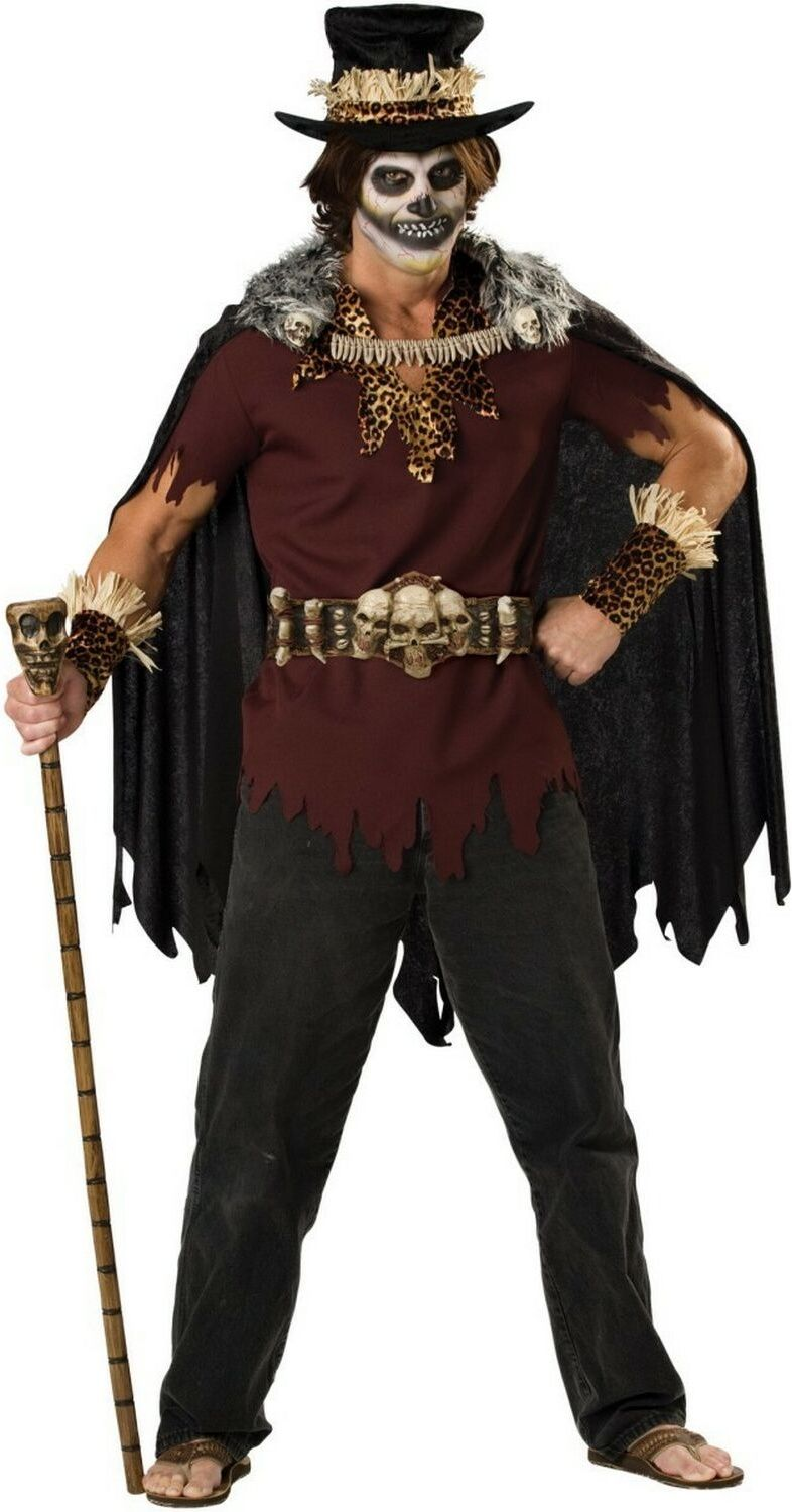 Mr.Cool Witch Doctor Adult Halloween Costume for men
