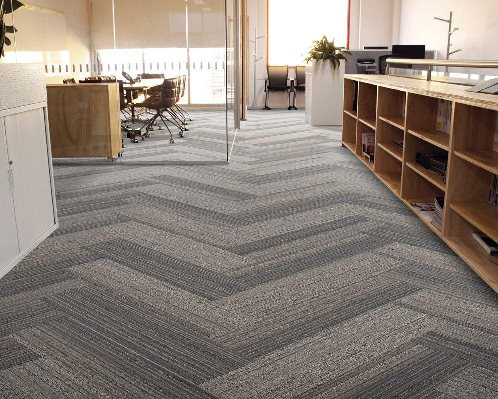 herringbone carpet tile Google Search Office