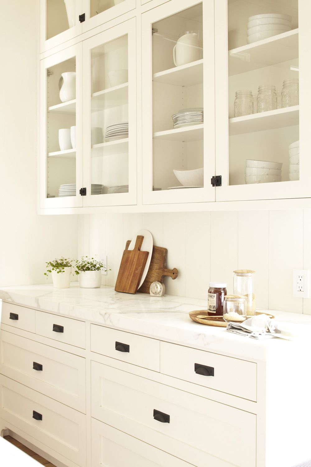 My Kitchen Inspiration White Hardware