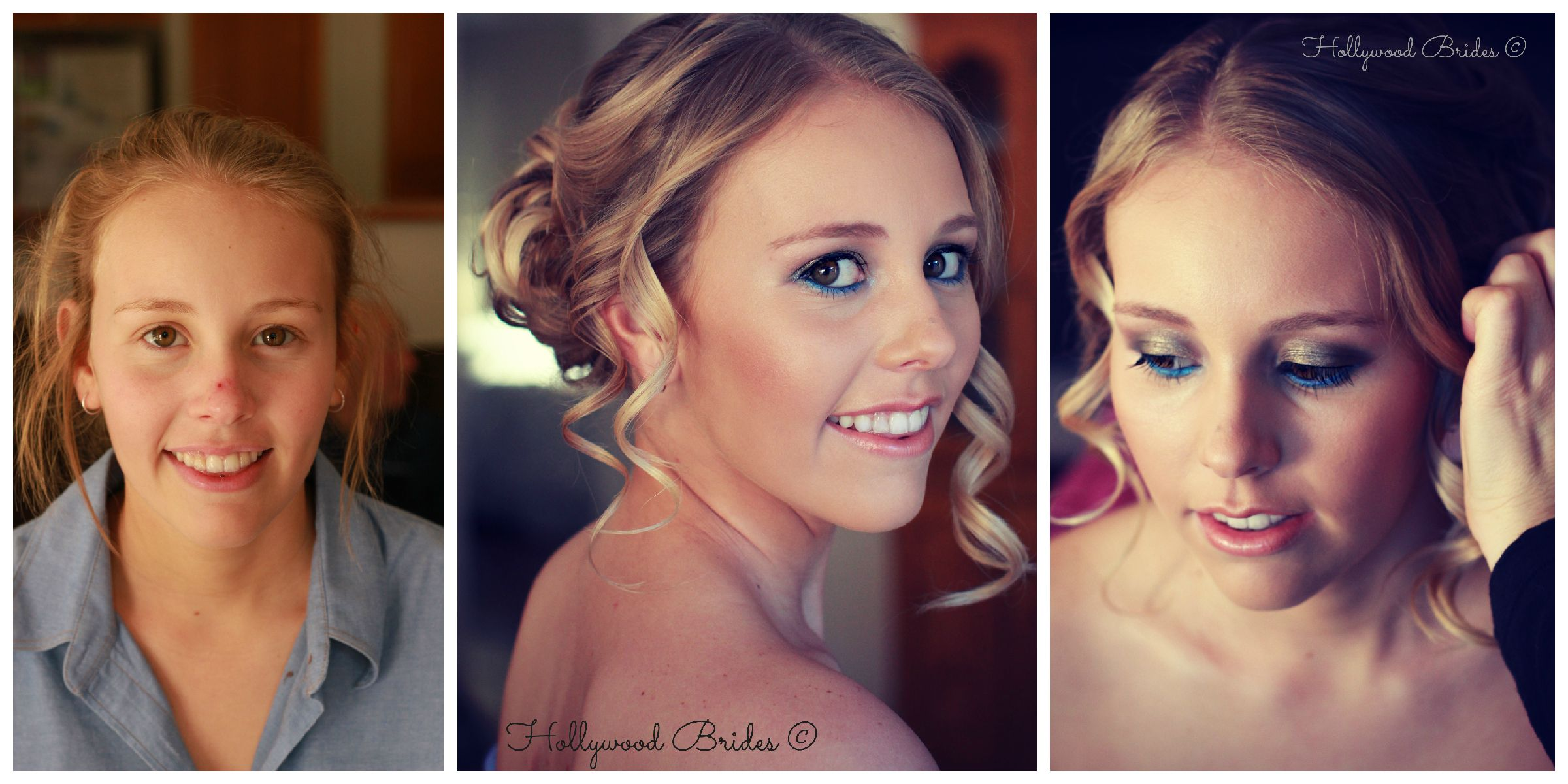 Boho hair makeup & photography from Hollywood brides Brisbane