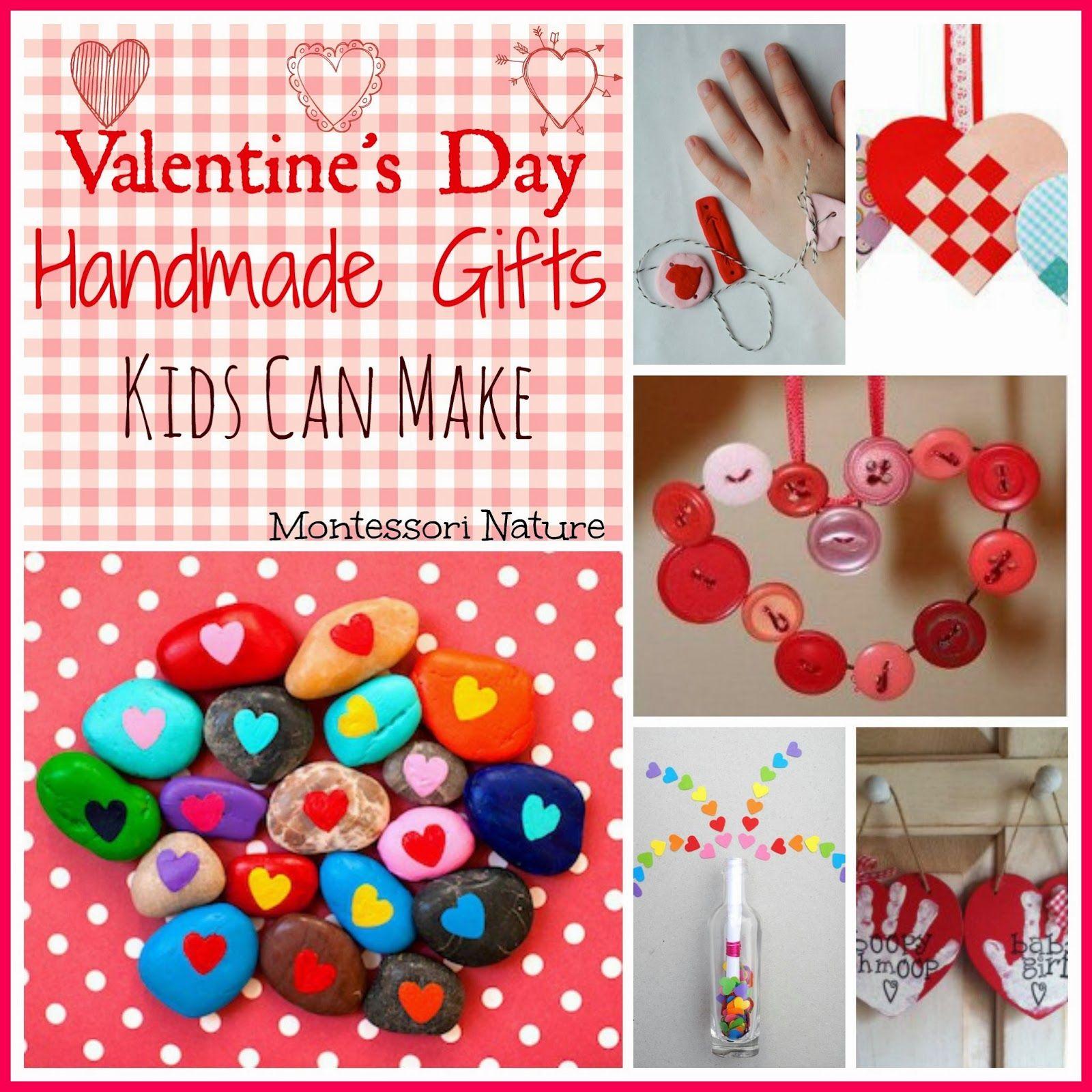 Valentine S Day Handmade Ts Kids Can Make