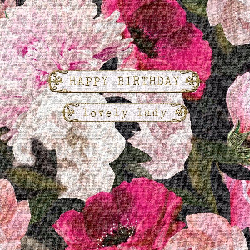 Happy Birthday Lovely Lady Happy Birthday! Pinterest