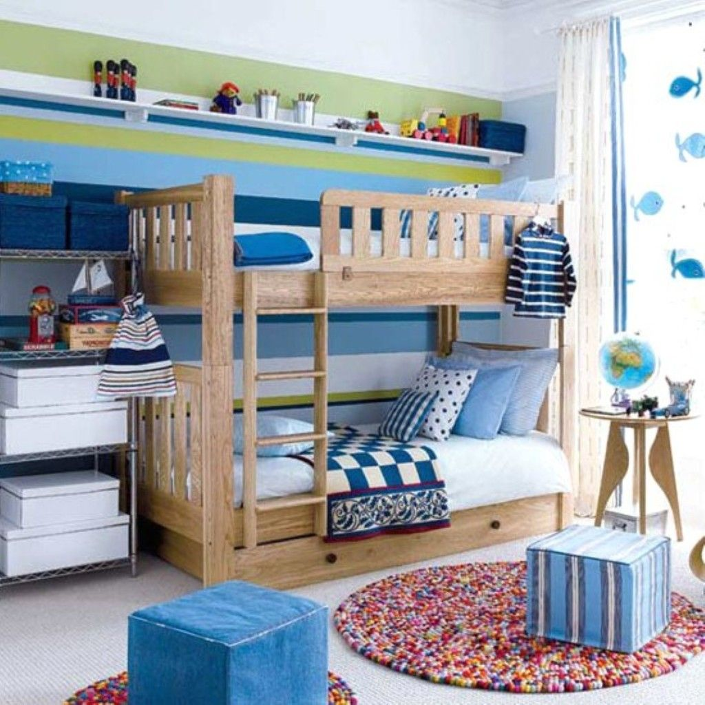 Toddler Boys Bedrooms With Bunk Beds