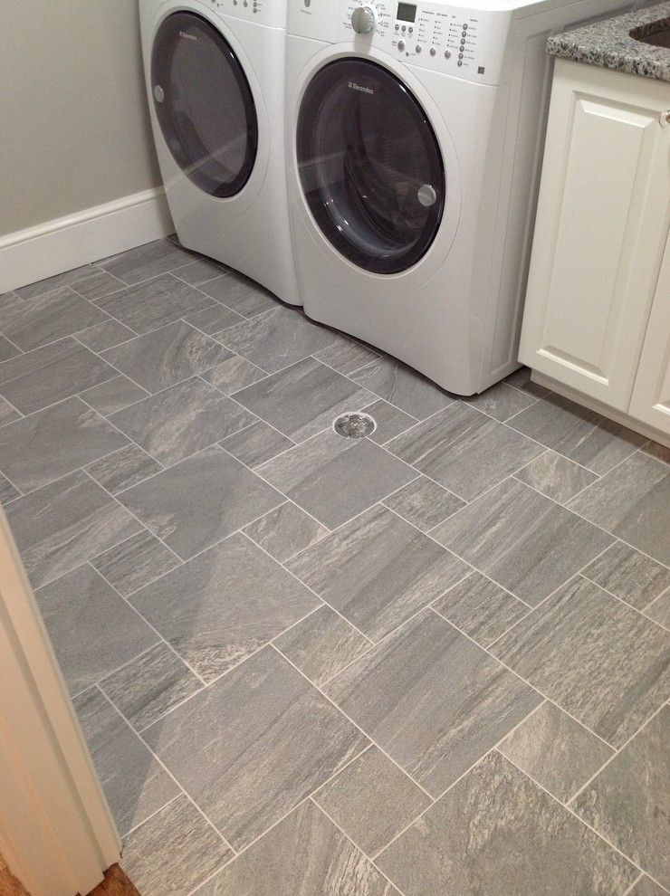 slop sink in Laundry Room Traditional Laundry