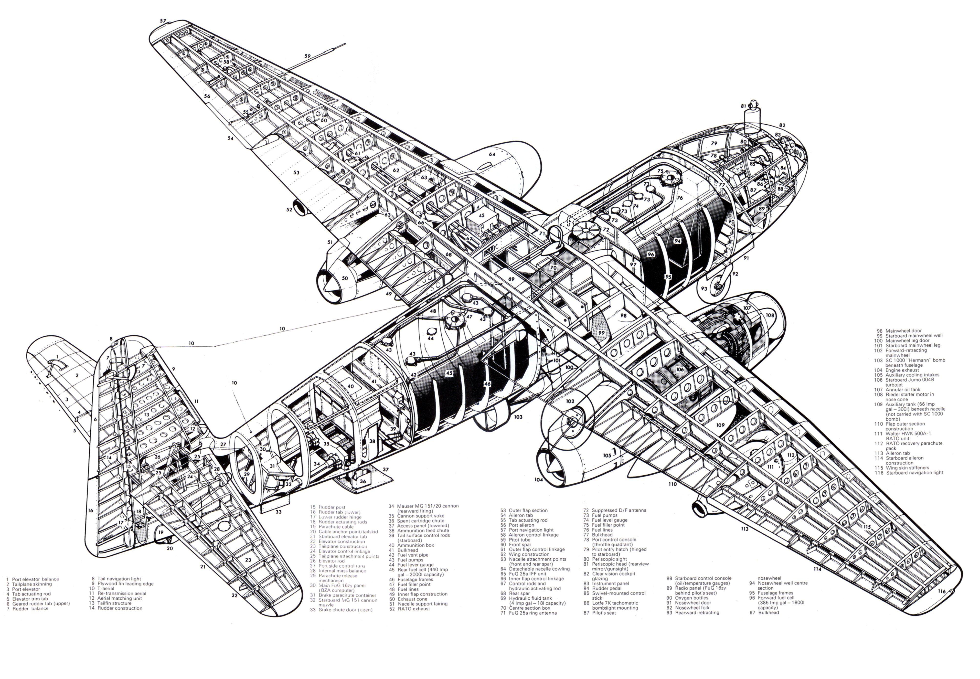 Arado Ar 234 World S First Operational Jeter
