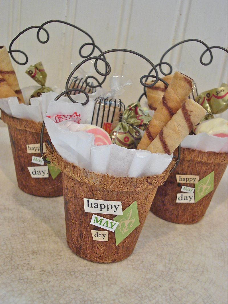 More May Basket Ideas Scrapbook stickers, Yummy snacks