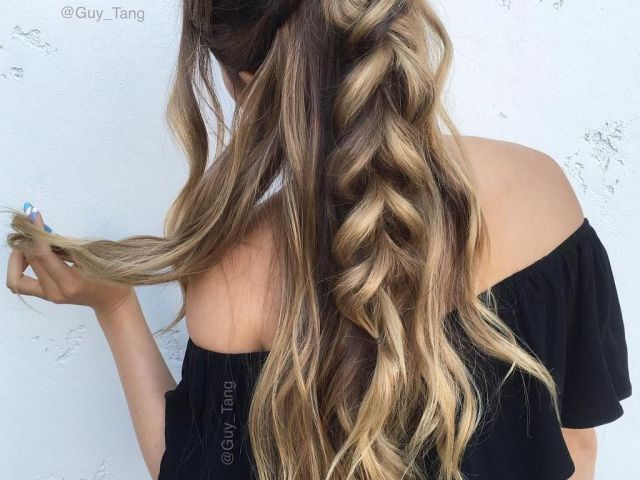 20 long hairstyles you will want to rock immediately! | half updo