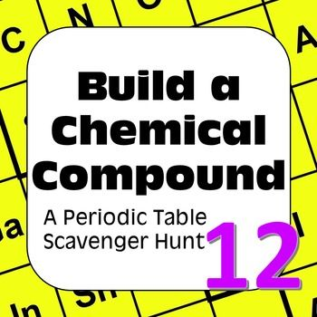 Periodic table scavenger hunt high school periodic diagrams science periodic table of elements scavenger hunt build a chemical urtaz Choice Image