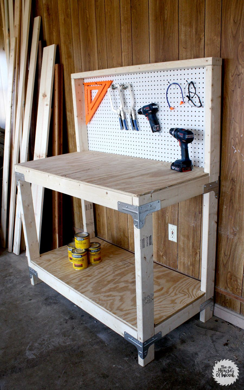 DIY Workbench with Simpson StrongTie Workbench Kit Diy