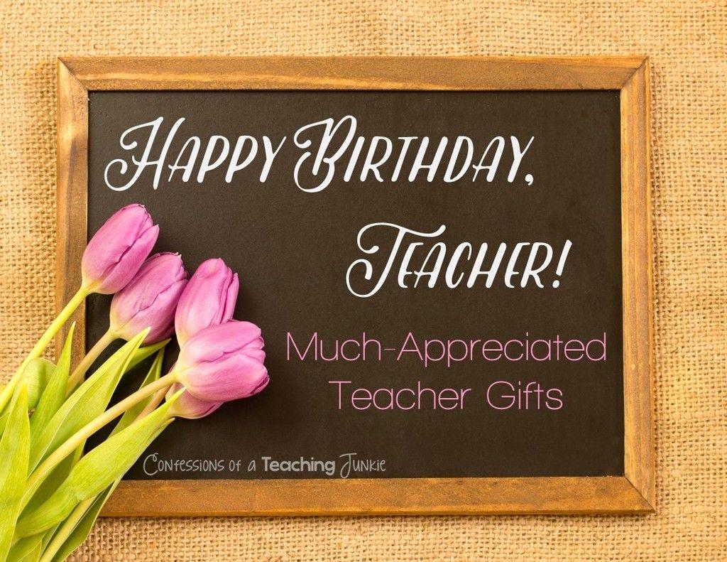 Happy birthday wishes for Teacher Birthday to Teacher
