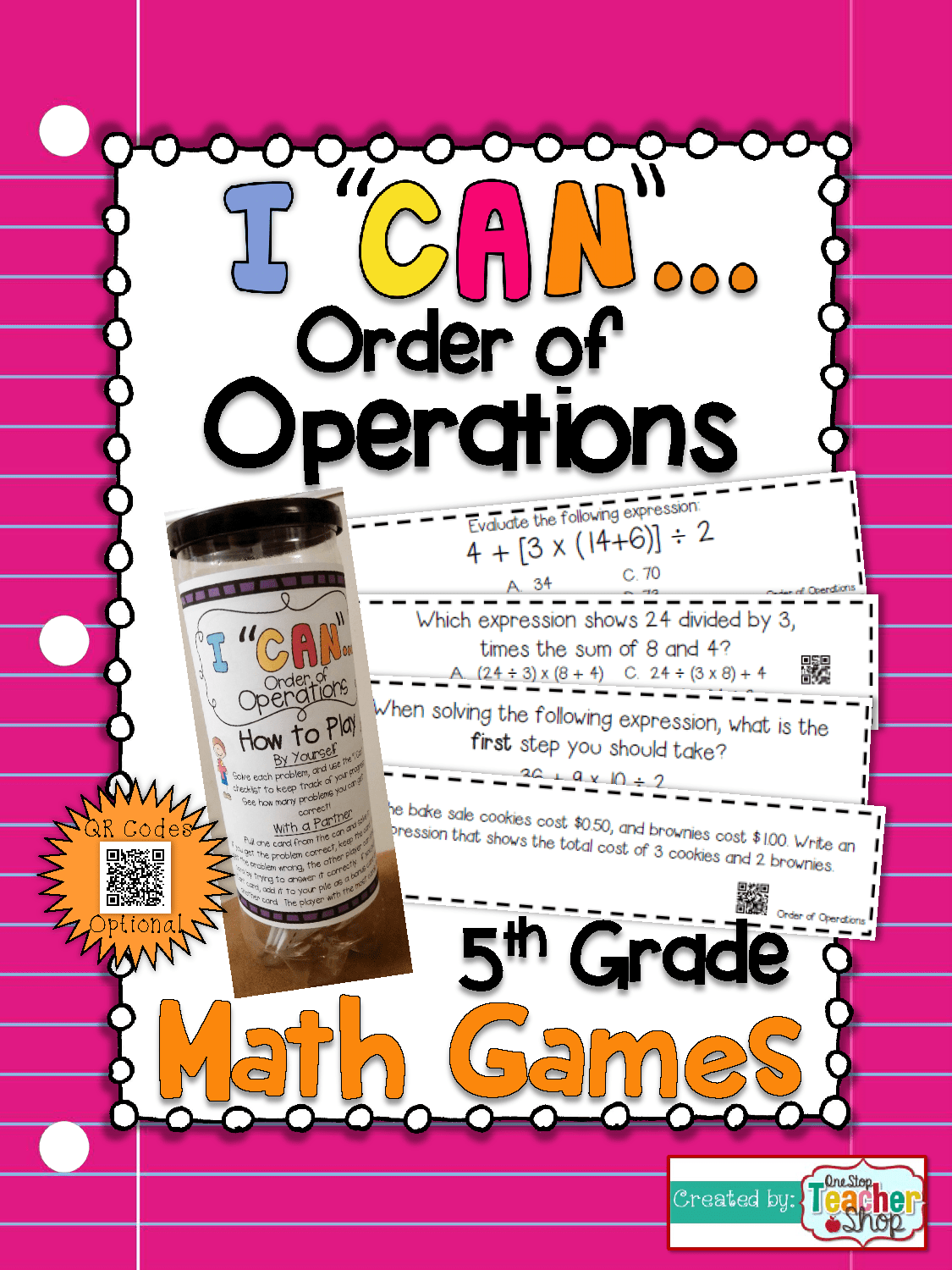 5th Grade Order Of Operations Game