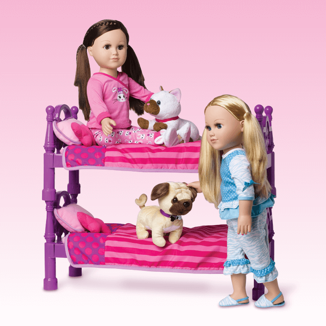 Stackable Doll Bed My Life AsFrom Walmart For 18