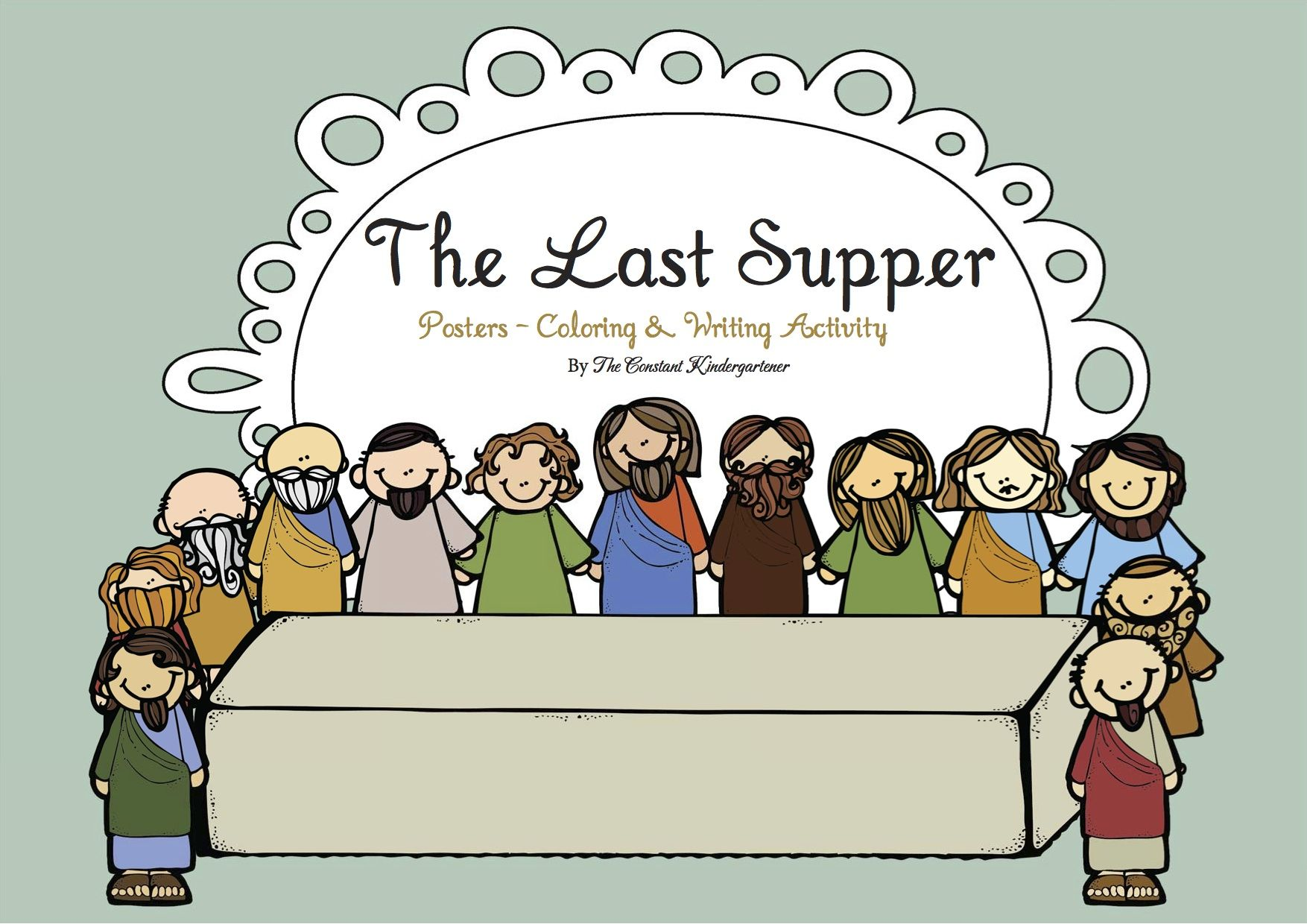 The Last Supper Printables