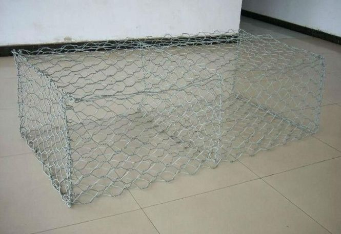 Reno Mattress Is A Shaped Container Manufactured From Heavily Galvanized Wire To Form Flexible