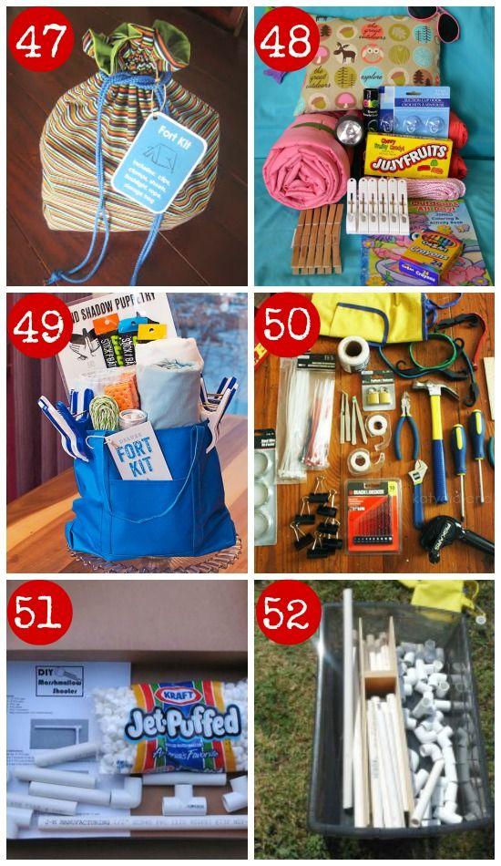 50+ DIY Gift Kits for Kids Building, Gift and Christmas