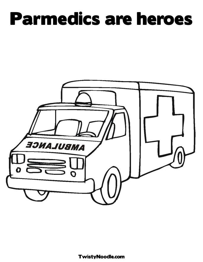paramedics colouring pages and first aid on pinterest
