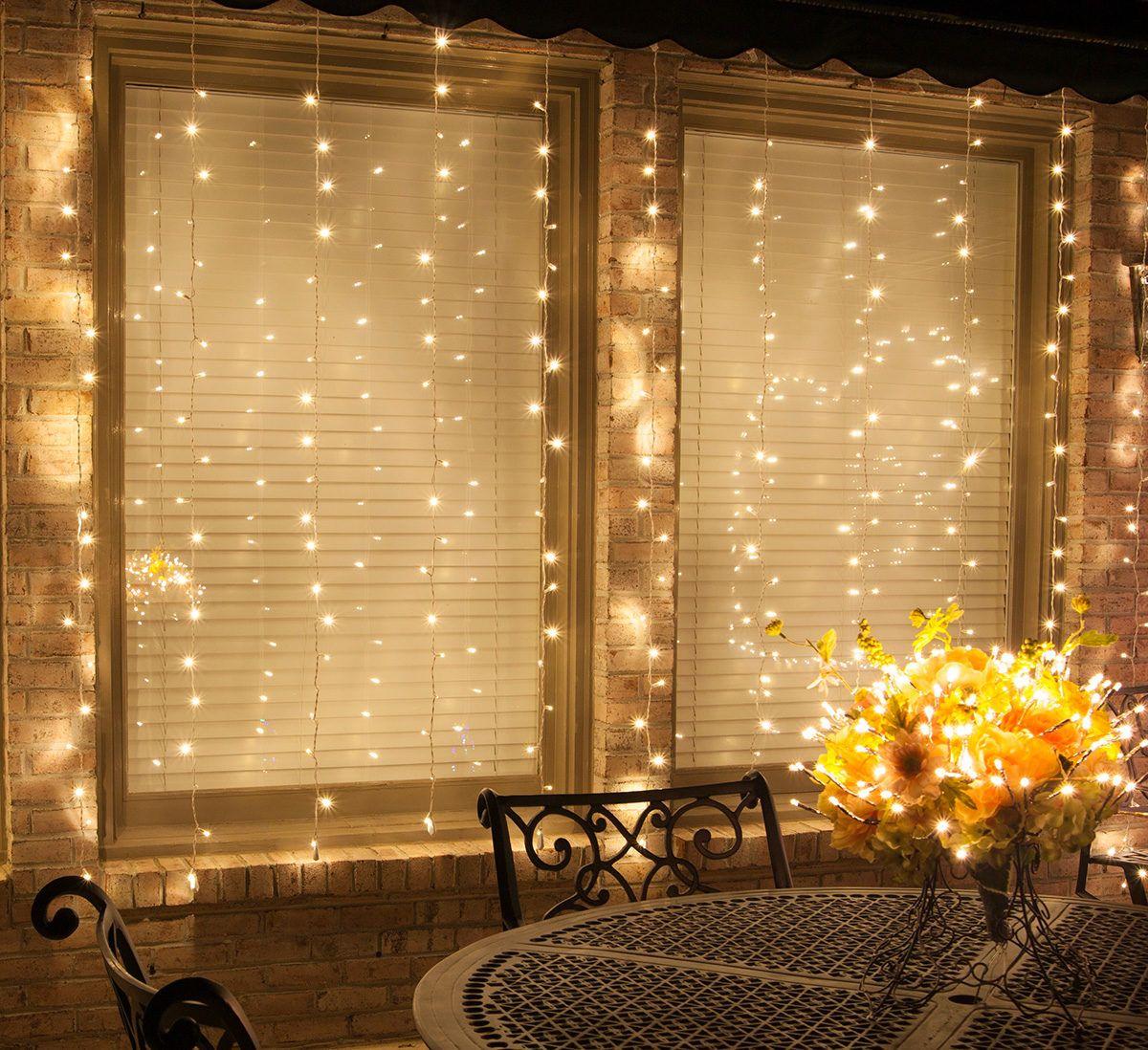 Spoiler Alert! DIY Curtain Lights are Easier Than You