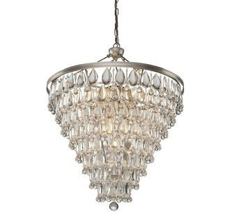 Crystal Teardrop Chandelier Lighting Connection