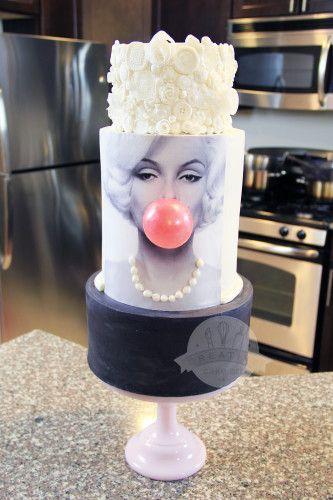 Marilyn Monroe Cake This Is Fab Cake Dessert