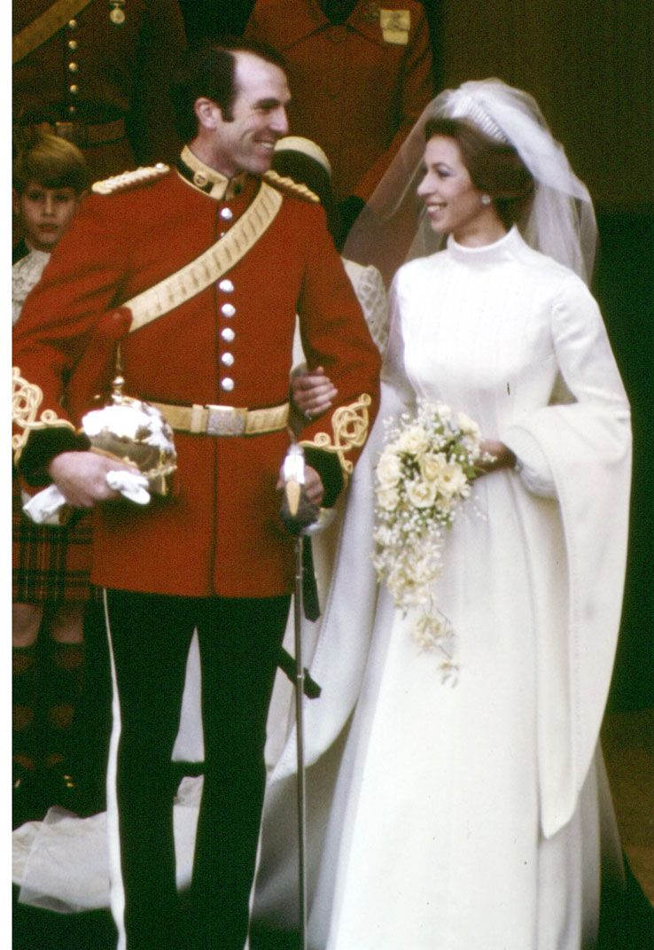 Princess Anne & Cpt Mark Phillips (they later divorced