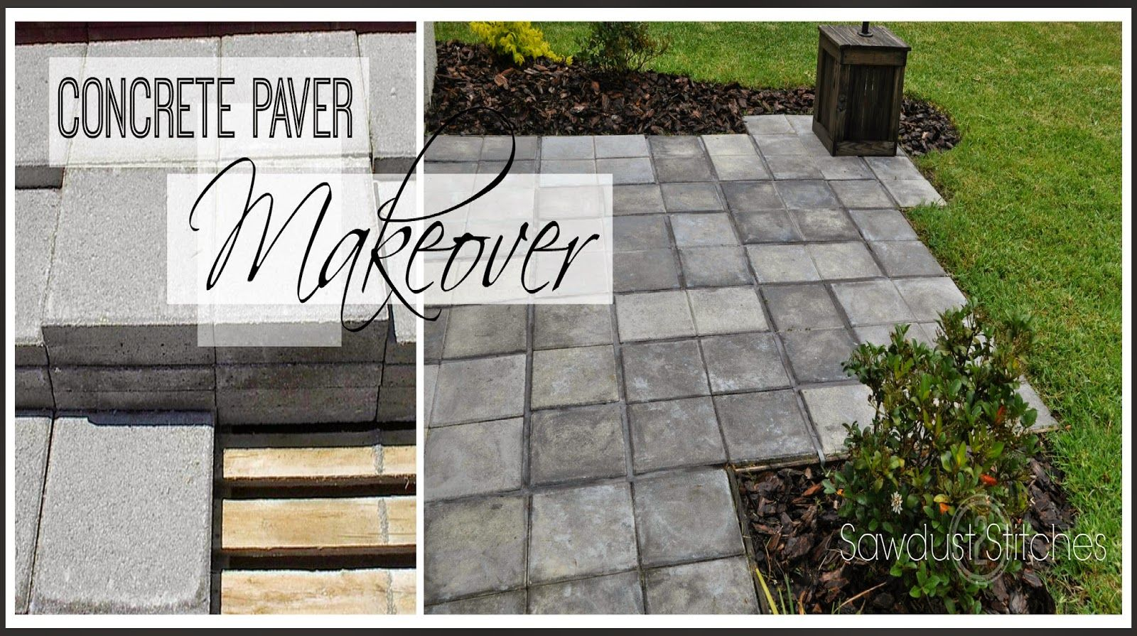 Using CHEAP concrete block , you can create the look of