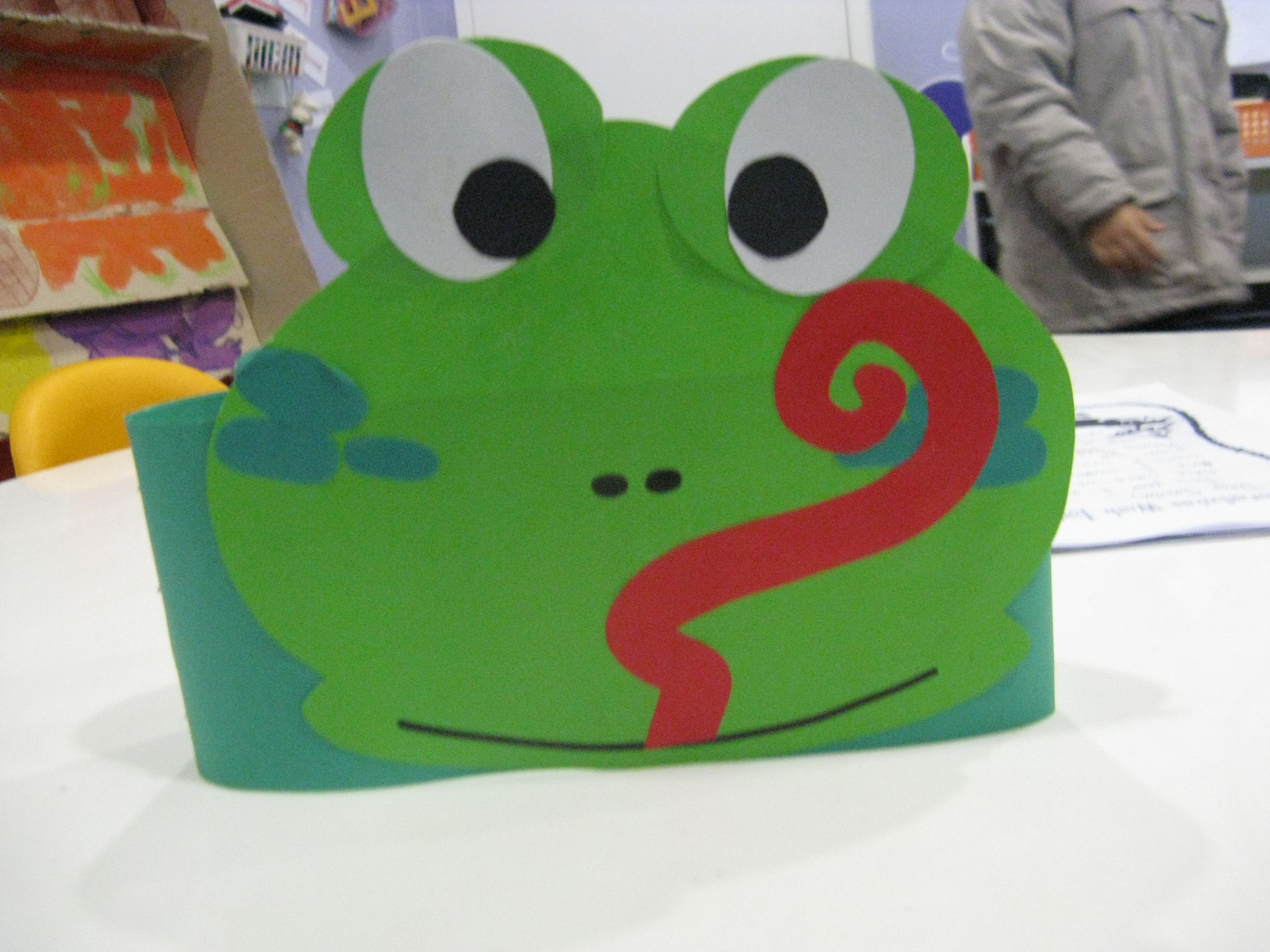 Frog Headband