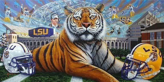 LSU On Pinterest Football Season Purple Gold And Golf
