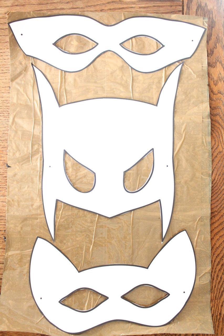 Halloween mask templates Kids Pinterest Mask