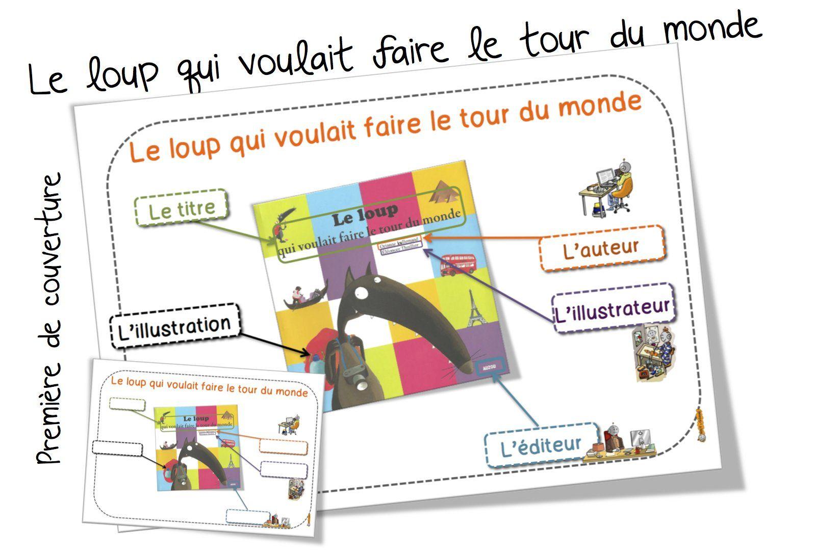 Premiere De Couverture Le Loup Qui Voulait Faire Le Tour