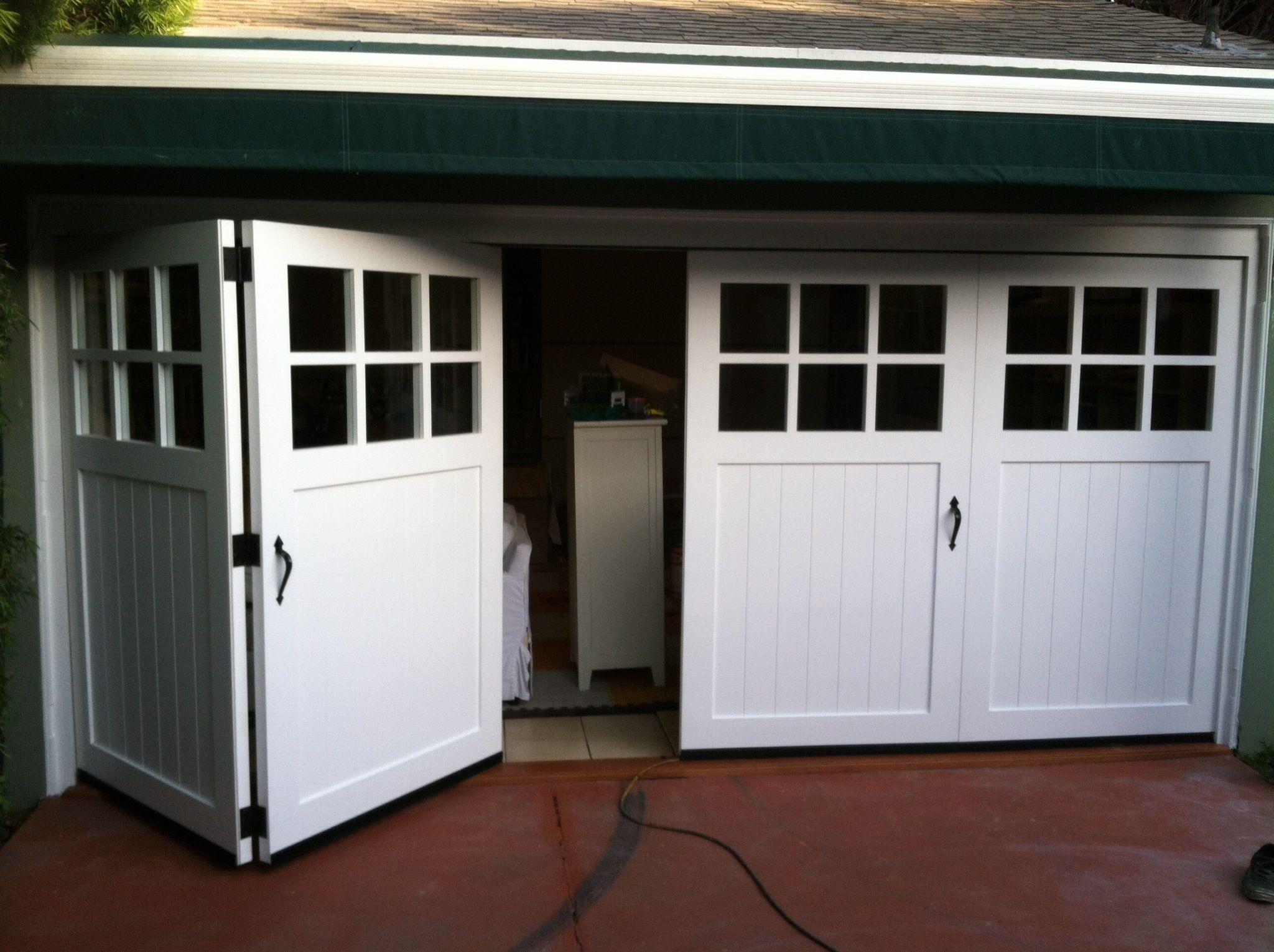 Carriage Doors Carriage doors, Garage doors and Hardware