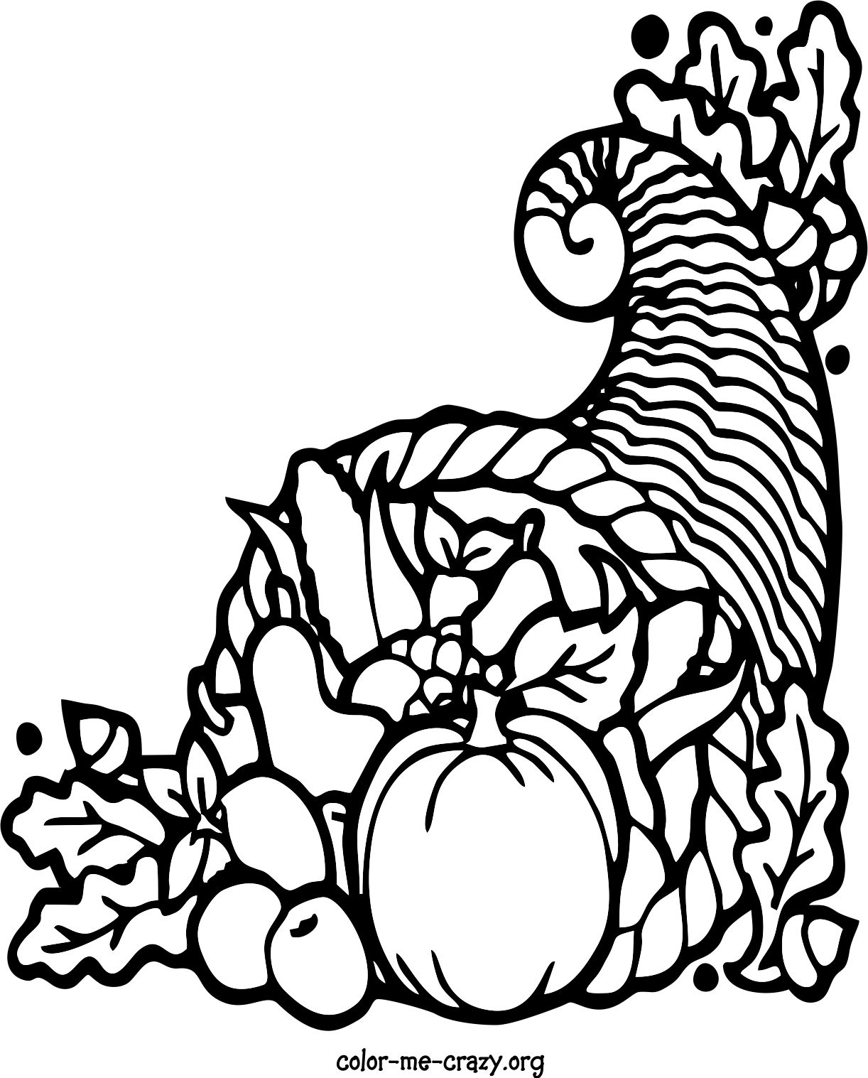 Coloring Pages of Thanksgiving Theme thanksgiving themed