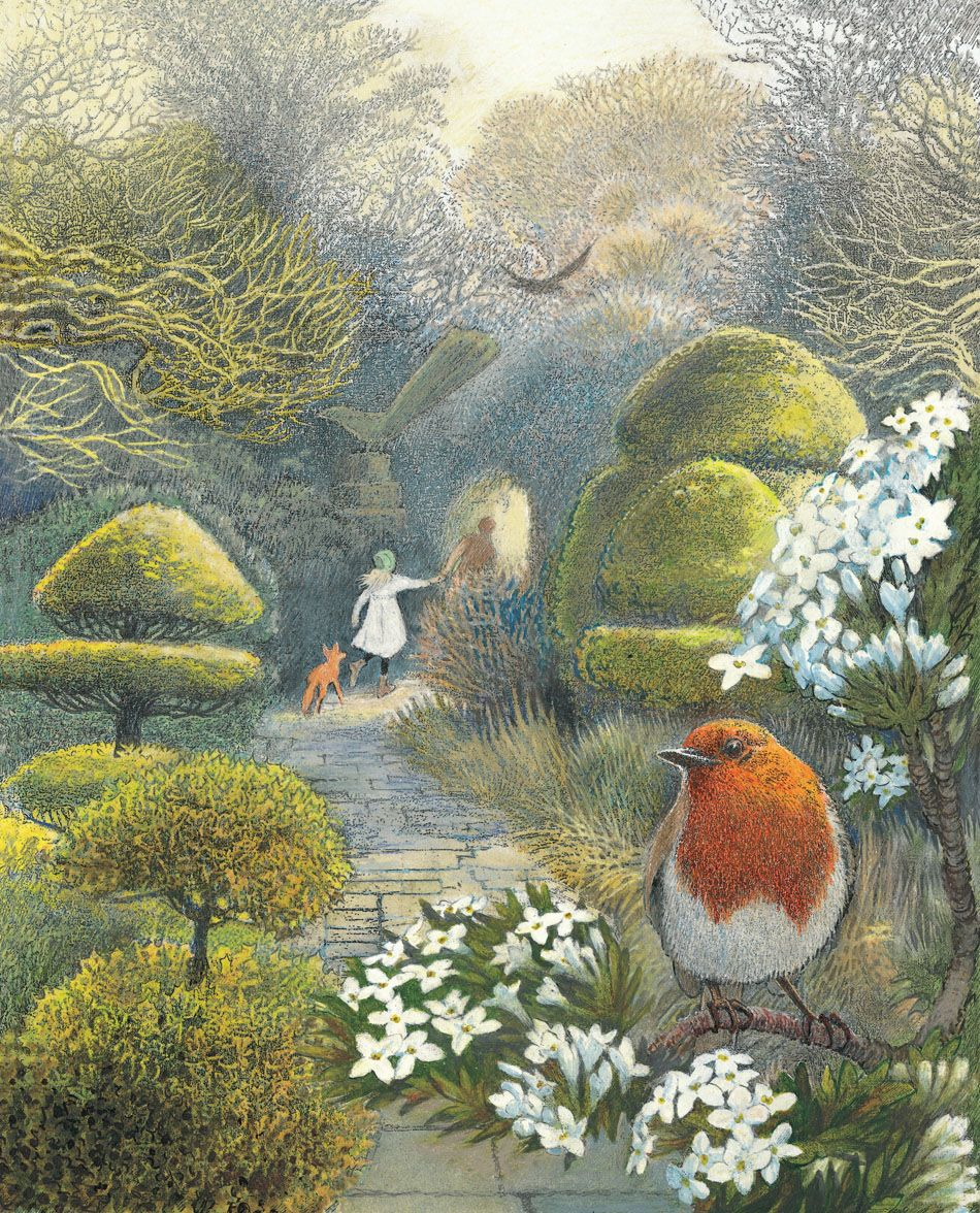 """""""The Secret Garden"""" illustrated by Inga Moore Need More"""