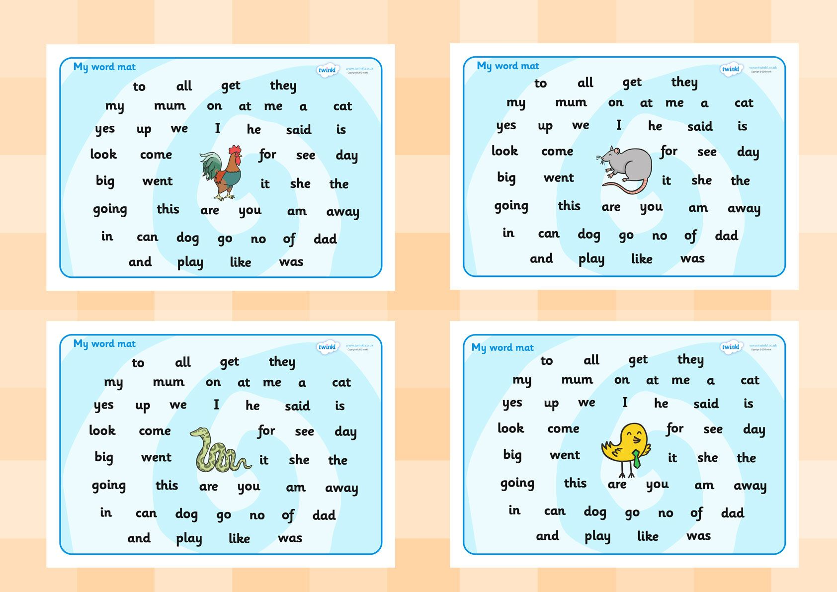 Twinkl Resources Gt Gt Fs2 Word Mat Gt Gt Printable Resources